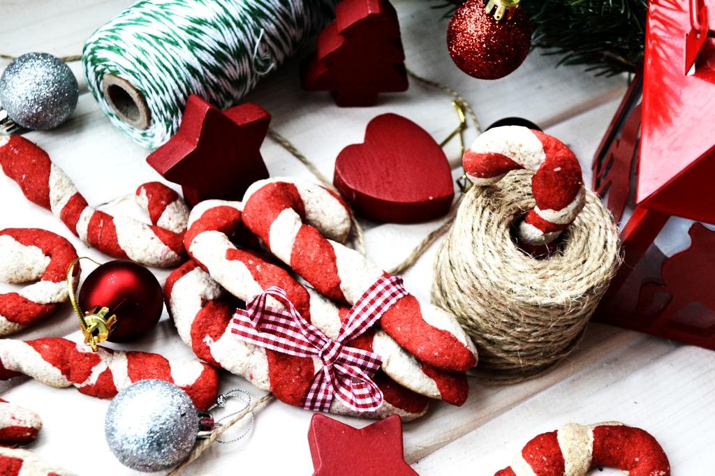 Christmas Cane Cookies