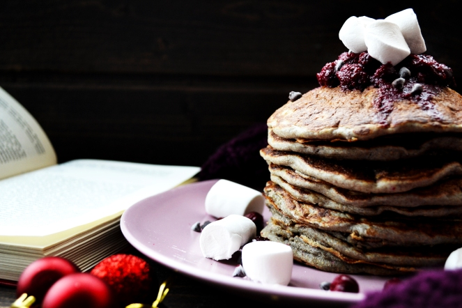 Currant Plumpy Pancakes